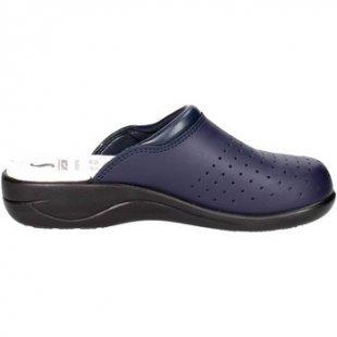 Sanycom Clogs 8240 Pantoletten Damen Blau