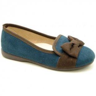 V-n Ballerinas 1203 - Azul marino