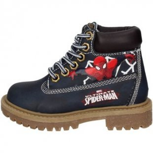 Spiderman Kinderstiefel SPI6048 Bootschuhe Boy Blau