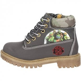 Turtles Kinderstiefel TNT6053 Bootschuhe Boy Grau