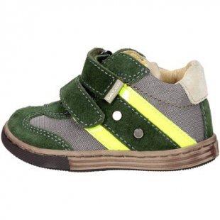 Balducci Kinderschuhe ART. 19 Niedrige Sneakers Boy Grün/Gelb