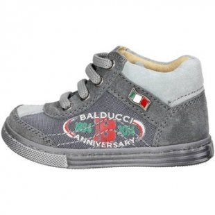 Balducci Kinderschuhe ART. 25 Hoch Sneakers Boy Grau
