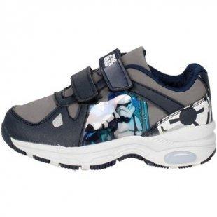 Disney Star Wars Kinderschuhe STW3852 Niedrige Sneakers Boy Blau/Grau