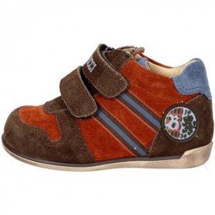 Balducci Kinderschuhe ART. 8 Hoch Sneakers Boy Orange