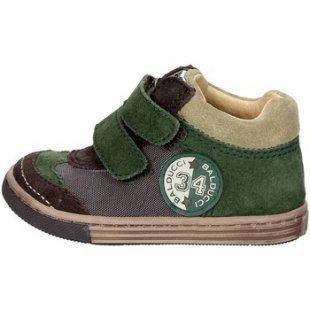 Balducci kinderschuhe ART. 16 Hoch Sneakers Boy Braun