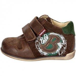 Balducci kinderschuhe ART. 45 Hoch Sneakers Boy Braun