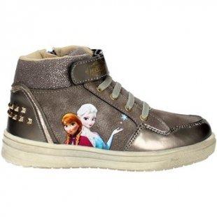 Disney Frozen Kinderschuhe FRO4020 Hoch Sneakers Mädchen Gold