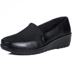 Spylovebuy Damenschuhe CUTESPY Damen Komfort Schuhe Pumps Aus Memory Foam - Schwarz