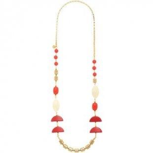 Nali´ Kette Nali´ AMCL0382 Bijoux Frau Halbmonde Fuchsia Kette
