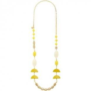 Nali´ Kette Nali´ AMCL0381 Bijoux Frau Halbmonde Gelb Kette