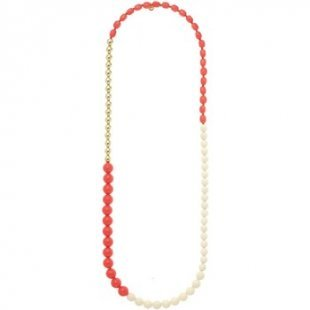Nali´ Kette Nali´ AMCL0389 Bijoux Frau Halskette Fuchsia Mix Balls