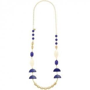 Nali´ Kette Nali´ AMCL0380 Bijoux Frau Halbmonde Blue Line