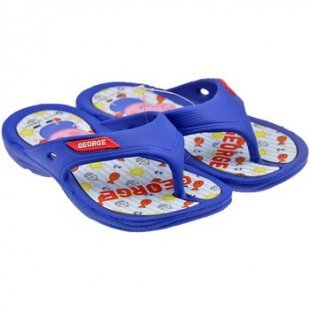 Peppa Pig Zehentrenner für Kinder Infra George flip flop zehentrenner