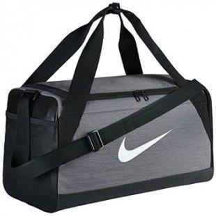 Nike Reisetasche Brasilia S Borsone Nero Grigio