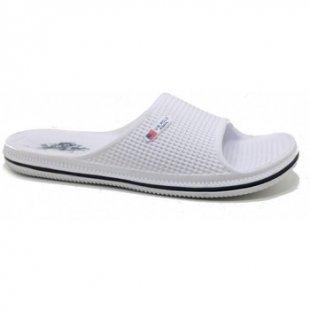 U.S Polo Assn. Pantoffeln RODI - Blanco