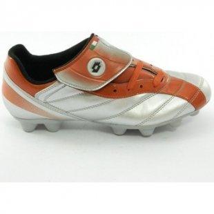 Lotto Fussballschuhe Fußballschuhe Silber Orange Kaos hg