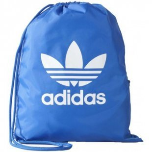 adidas Rucksack Originals Gymsack Trefoil Blau