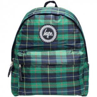 Hype Rucksack Herren Highland Logo Rucksack, Grün