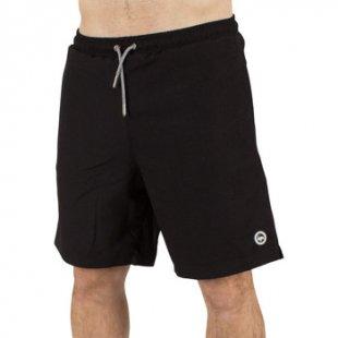 Hype Shorts Herren Core-Logo Swimshorts, Schwarz