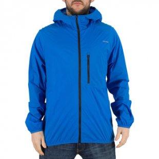 Converse Herren-Jacke Herren Blur Nylon Logo Jacke, Blau