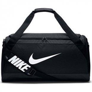 Nike Reisetasche Brasilia 6 M Sporttasche Schwarz