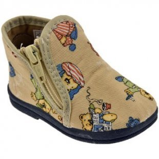 Diamantino Babyschuhe 1100 Cotton Zip saeugling