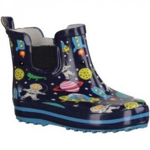Beck Gummistiefel für Stiefel Space 812- Kinderschuhe Gummistiefel, Blau