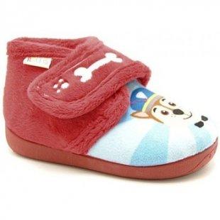 Ralfis Pantoffeln Kinder 6976 - Rojo