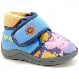Peppa Pig Pantoffeln Kinder DRAVE MAD 27099 - Azul
