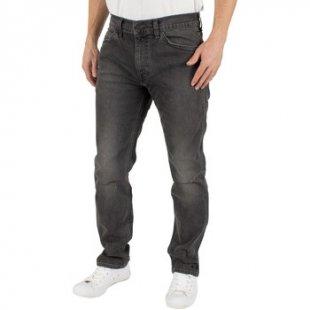 Levis Slim Fit Jeans Herren Linie 8 dünne gerade Mid Grau Zerstörung Jeans, Grau