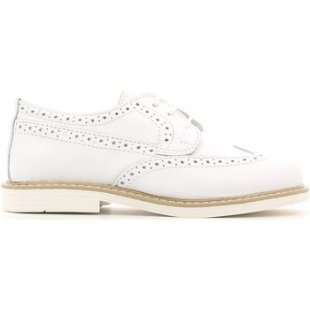 Crazy Kinderschuhe MK2495D6E.J Lace-up heels Kind White