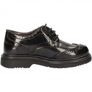 Asso Kinderschuhe 59861 Lace up shoes Mädchen Schwarz