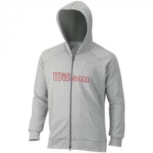 Wilson Trainingsjacken Logo Zip Hoodie
