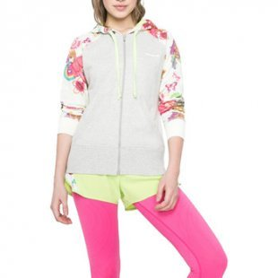 Desigual Trainingsjacken Zip hoody