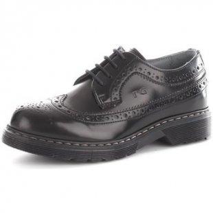 Nero Giardini Schuhe Kinder A634040M Schnürschuhe Baby Black