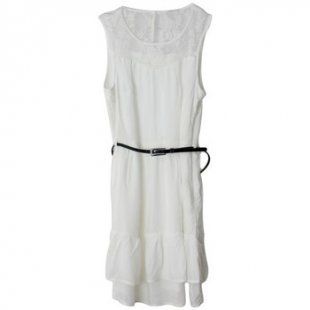 Vero Moda Kleid Kleid Viola