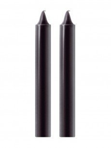 Fashionistas Pleasure/Pain Drip Candles: S/M-Kerzen, 2er Set, schwarz