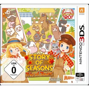 3DS - Story of Seasons: Trio of Towns