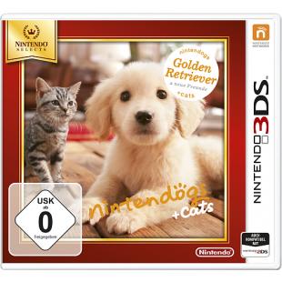 Nintendo - 3DS: Nintendogs + Cats, Golden Retriever & neue Freunde