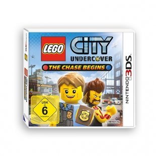 3DS - LEGO City Undercover: The Chase Begins