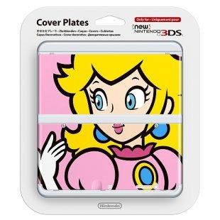 New 3DS - Zierblenden Peach