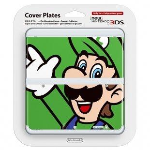 New 3DS - Zierblenden Luigi
