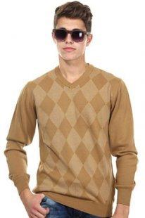 EXUMA Pullover V-Ausschnitt slim fit