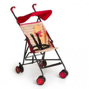 Hauck - Buggy Sun Plus, Pooh Spring brights red