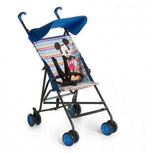 Hauck - Buggy Sun Plus Mickey Geo blue