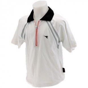 Diadora Kinder-Poloshirt Reißverschluss polohemd