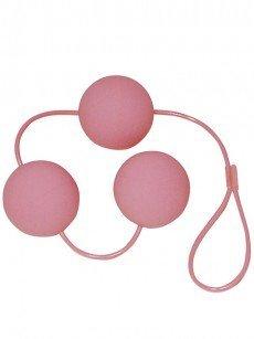 Liebeskugeln: Velvet Pink Balls, pink