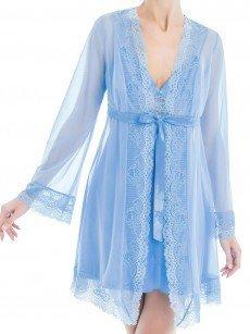 Anabel Arto: Kimono, blau