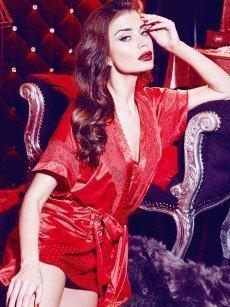 Anabel Arto: Kimono, rot