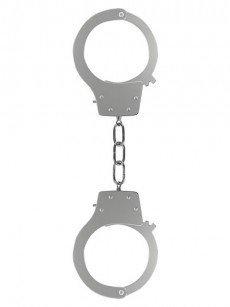 Ouch! Pleasure Handcuffs: Handschellen, silber